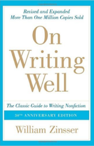 book on good non fiction writing